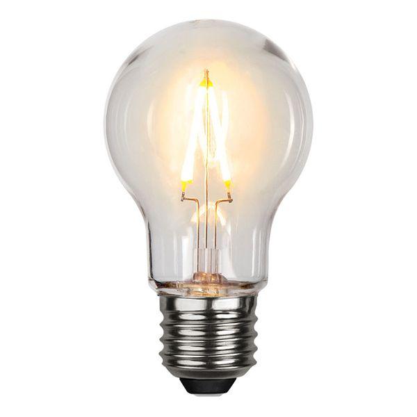 Normallampa Filament LED 0,6W 70lm E27
