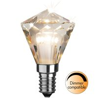Dimbar lampa Diamond LED 3,3W 240lm E14