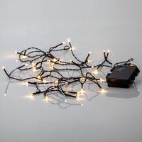 Akku Ljusslinga för utomhus LED, 40-ljus