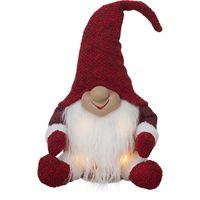 Juldekoration Joylight Tomte Grå 34cm