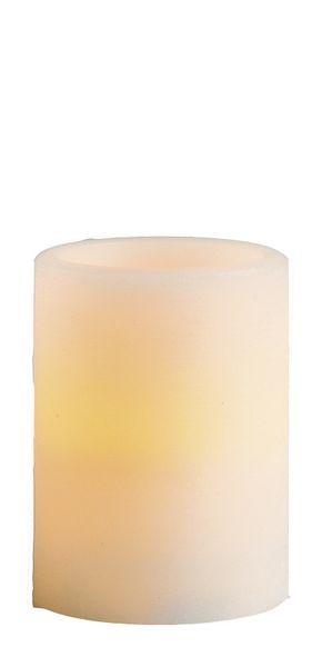 Vaxljus med LED 10 cm