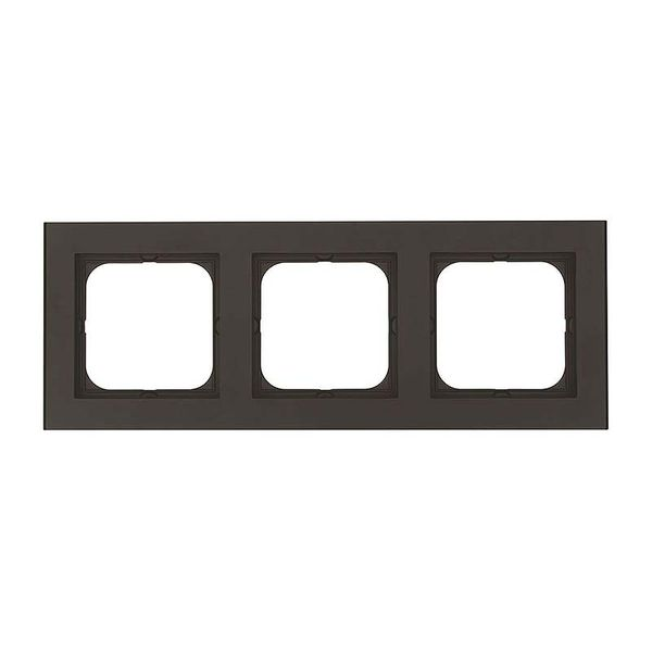 Malmbergs Optima Kombinationsram 3-fack svart