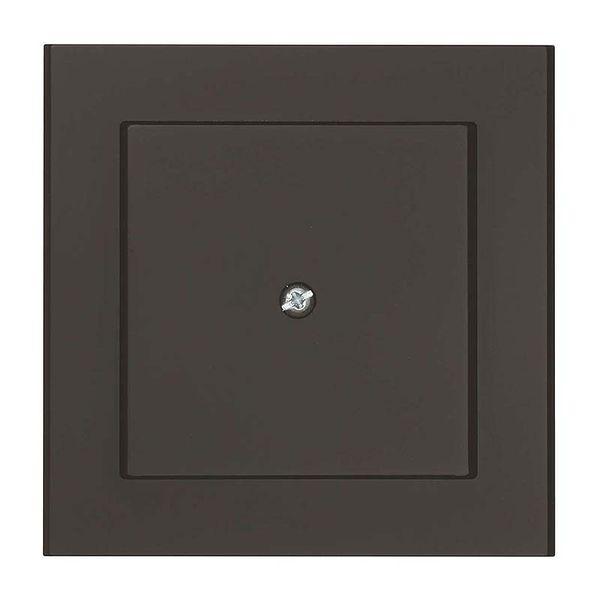 Malmbergs Optima Blindplatta svart