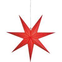 Julstjärna Dot Röd 1m
