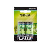 Batteri Calex C LR14 2-pack