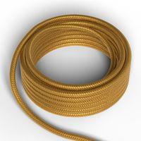 Textilkabel Guld