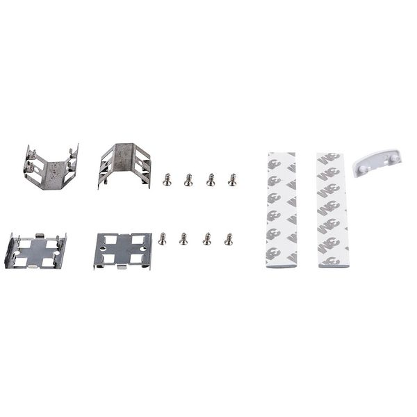 Direktkoppling, clips, skruvar och dubbelhäftande tejp till LED-list 300/600mm