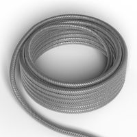Textilkabel Silver