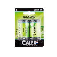Batteri Calex D LR20 2-pack