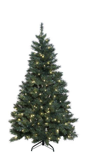 Julgran Konstgran Ottawa Grön med LED 180 cm