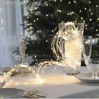 Dew Drops Bouquet 360 LED Varmvit/Silver med trafo