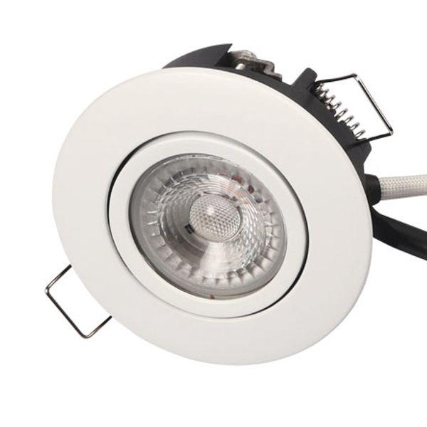 Scan Products LED Downlight Luna LP 3000K 230V 6,2W Vit UTOMHUS