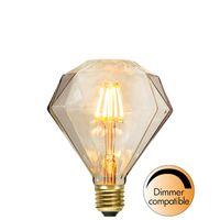 Dimbar Diamondlampa Soft Glow LED 1,65W 100lm E27