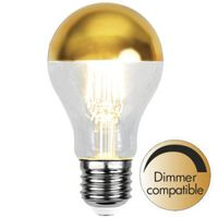 Dimbar Toppförspeglad Normal Guld LED 4,0W 350lm E27