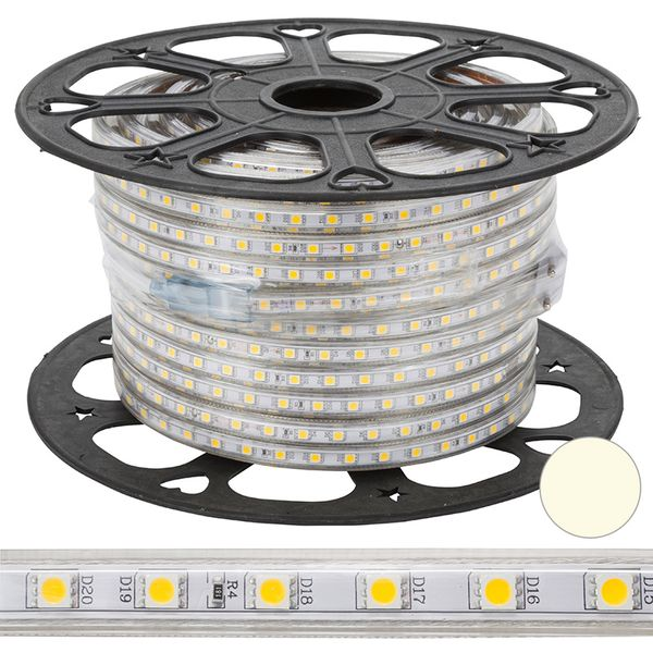 Ljusslang LED List 60 Flat Varmvit