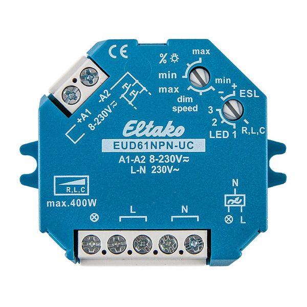 Dosdimmer LED Eltako EUD61NPN-UC