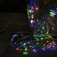 Dew Drops 125 LED Multi/Silver