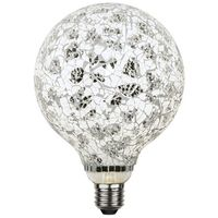 Globlampa Mosaik Svart Ø130 LED 4,0W 280lm E27