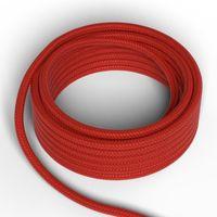 Textilkabel Röd