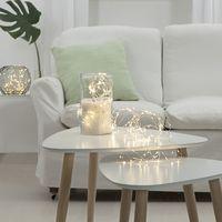 Dew Drops 200 LED Kallvit/Silver