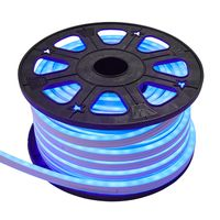 Ljusslang LED Neoled Flat Blå