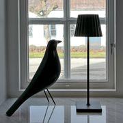 Bordslampa Lucy i vitt från LightsOn Garden Plug & Play