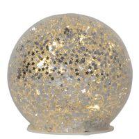 Glasdekoration Star Fall 10cm Silver