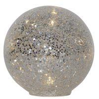 Glasdekoration Star Fall 15cm Silver