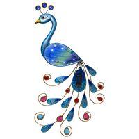 Solcellsdekoration Vägg Peacock