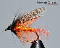 Teal Svart Orange stl. 12