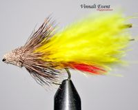 Marabou Muddler Yellow size 8