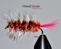 Woolly Worm Brown size 10