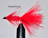 Woolly Bugger Red wtd size 12