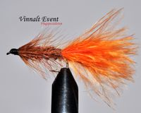 Woolly Bugger Brown wtd size 12
