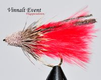 Marabou Muddler Red size 10