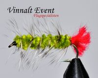 Woolly Worm Olive size 8