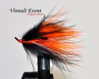 Black/Orange Marabou Koko 8