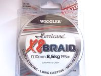 Hurricane 8 Braid 0,10 mm=8,6 kg