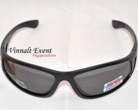 Briller sorte med grå glas uv 400