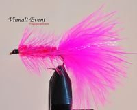 Woolly Bugger Pink size 8