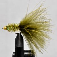 Gold Head Olive size 10