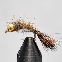 Czech Goldhead grey size 12