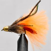 Conehead Muddler Orange Marabou