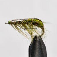 Amphipod Olive size 6
