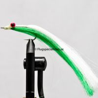 Clouser Minnow Green/White 2