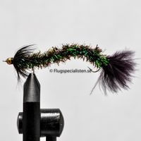 Bristle worm Black size 8