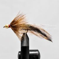 Grizzly Trout Rusty coloured size 6
