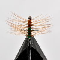 Super pupa Green & Brown size 10