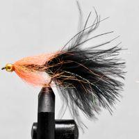 Long fish Black size 6