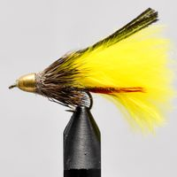 Conehead Muddler Yellow size 10